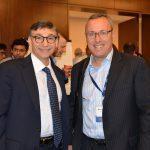 ONUG Board Member Michael Payne with ONUG attendee