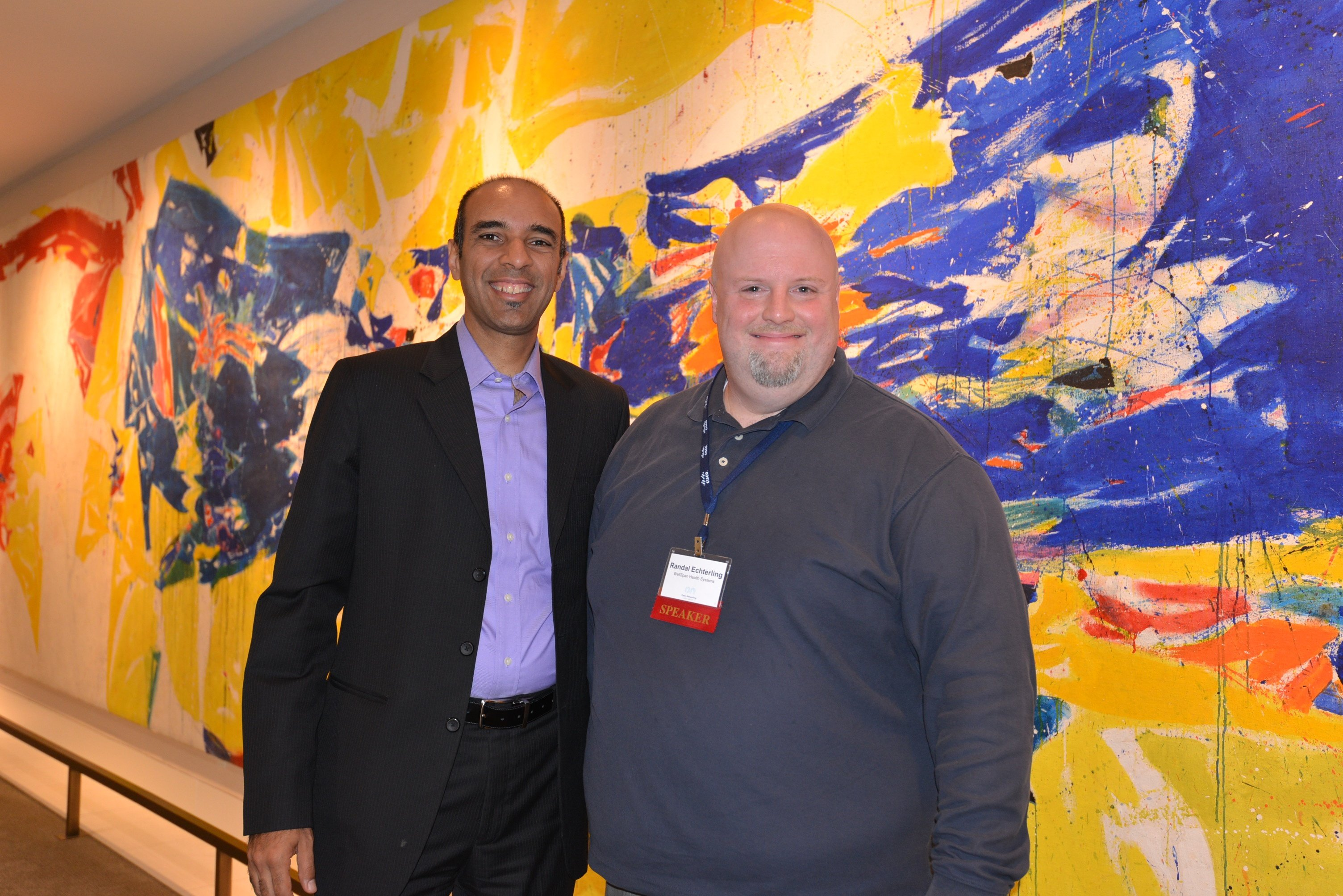 ONUG Conference Luncheon Partnership Series speakers, Shehzad Merchant and Randal Echterling