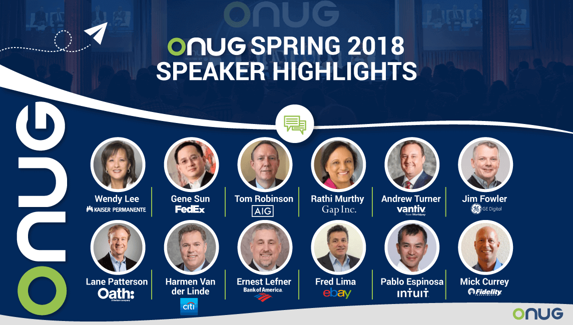 ONUG Spring 2018 Speaker Highlights